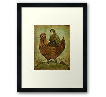 The Traveling Companion Framed Print
