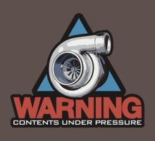 WARNING! contents under pressure (3) Kids Clothes