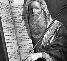 Moses and the Ten Commandments by Vintage Works