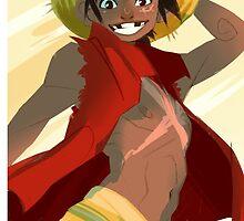 (One Piece) Luffy by bridraccoon