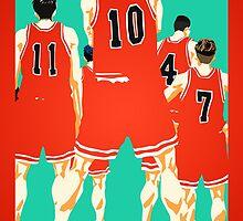 Team Shohoku by josephine12cute