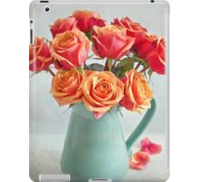 A very beautiful rose bouquet iPad Case/Skin