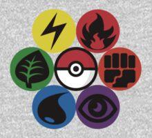 Pokemon Sacred Geometry Kids Clothes