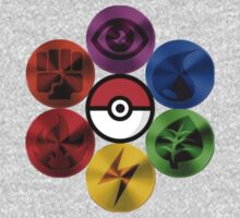 Pokemon Sacred Geometry Metallic Kids Clothes