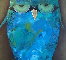 Angry Owl by JackofallTrades