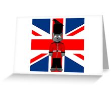 Union Jack Cat Greeting Card