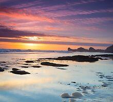 Great Sunset by EVASILCIUC