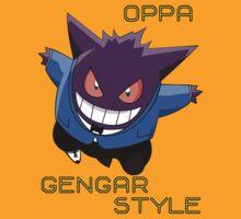 oppa gengar style! by shinypikachu