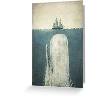 The White Whale  Greeting Card