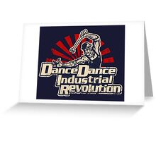 (Distressed) Dance Dance Industrial Revolution Greeting Card