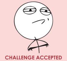 MEME: Challenge Accepted Kids Clothes