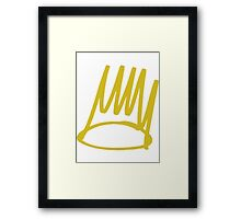 J Cole - Crown Framed Print
