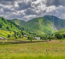 Hartsop Village Lake District by Trevor Kersley
