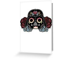 DARTH VADER CALAVERA Greeting Card
