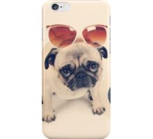 Pug's Summer iPhone Case/Skin