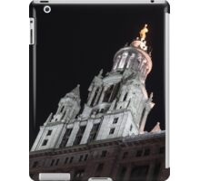 City Night Walks - Manhattan Municipal Building, a  Beaux-Arts Jewel iPad Case/Skin