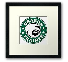 Dragon trainer Framed Print