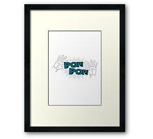 Pop Pop! Framed Print