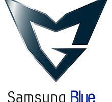 Samsung Blue League Of Legends by Setsu-rai