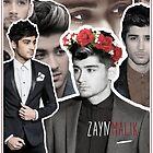 Zayn Malik collage by cartoonmotioned