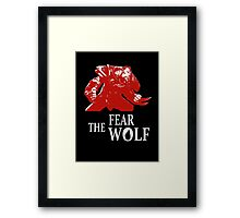 Lycantrope - Fear the Wolf Framed Print
