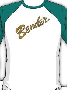 Bender Guitars in GOLD T-Shirt