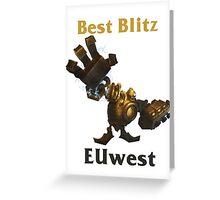Best Blitzcrank EUwest Greeting Card