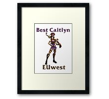 Best Caitlyn EUwest Framed Print