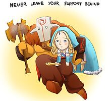 Dota 2 - Never leave! by keterok