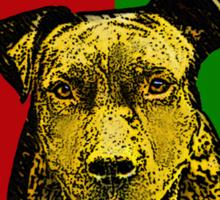 I Love Pitbulls, Black Font Sticker