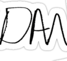 dan howell signature Sticker