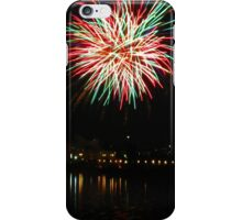 Two big ones over the water iPhone Case/Skin