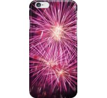 Pink fireworks iPhone Case/Skin