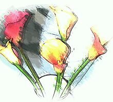 Still life ... Lilies  by OlaG