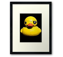 Buc Duck Framed Print