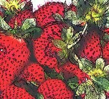 Still life ... Strawberries  by OlaG