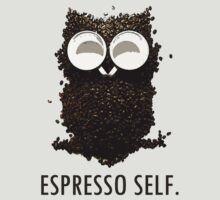 Espresso Self w/ text by Ashlee Evans
