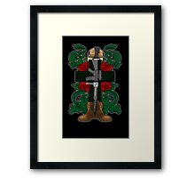 Battle Cross for Ralph Framed Print