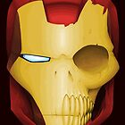 Iron Man Skull by crabro
