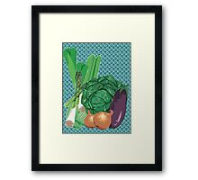 Veggies Framed Print
