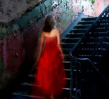 Staircases to the Light by Angelika  Vogel