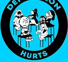 Depression Hurts by AllMadDesigns