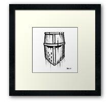 The Crusader Framed Print
