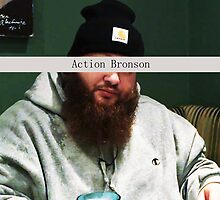 Action Bronson w/ name strip by -TyM