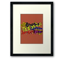 Jeepers! Framed Print