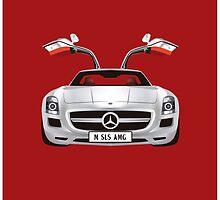 Mercedes SLS AMG by SraCorleone