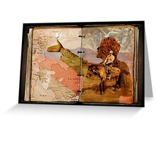 Vladimir's Agenda and Daily Planner Greeting Card