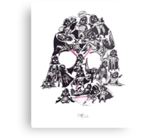 21 Darth Vaders Metal Print
