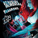 Poster for Inferno of Joy | Roadside Memorial | The Pharaohs | Luma Jaguar by caseycastille