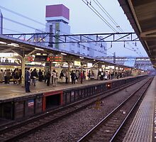 Station – Japanese Trains by gentlemenwalrus